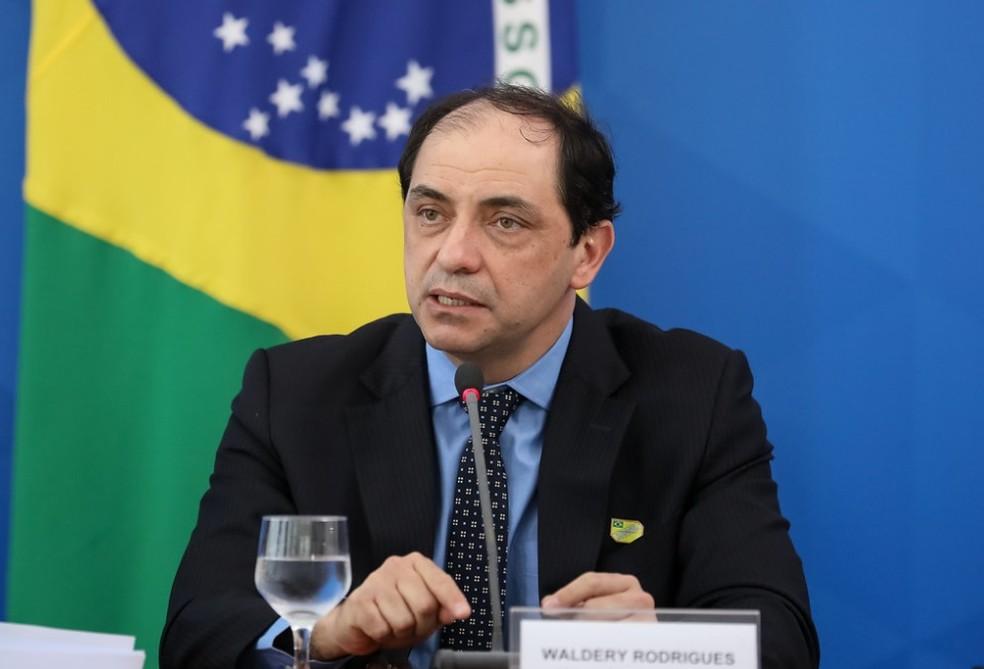 Waldery Rodrigues, secretário de Fazenda do Ministério da Economia — Foto: Clauber Cleber Caetano/PR