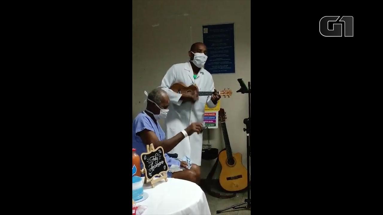 Projeto leva música e esperança para pacientes internados no Hospital Dutra