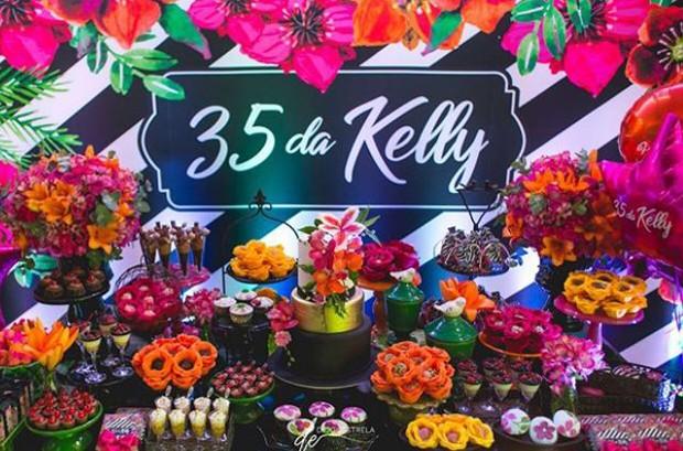 Festa de 35 anos de Kelly Key (Foto: Reprodução/Instagram)