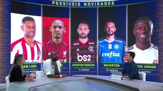 Comentaristas do Troca de Passes acreditam que chegou o momento de renovar a Seleção Brasileira