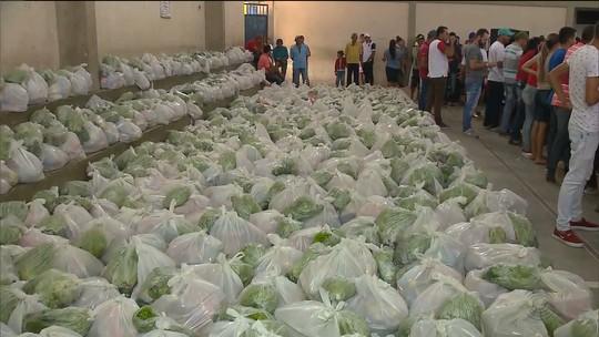 Paraíba alcança 2º lugar no Brasil em arrecadações no 'Natal Sem Fome' 2017