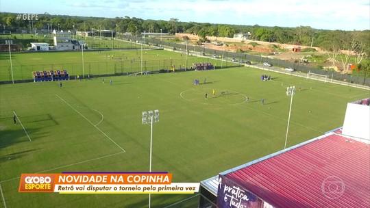 Adversário do Corinthians na Copinha, Retrô investe R$ 35 milhões e tem 500 atletas na base