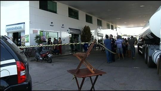 Segurança é morto a tiros em posto de combustíveis de Anápolis; vídeo