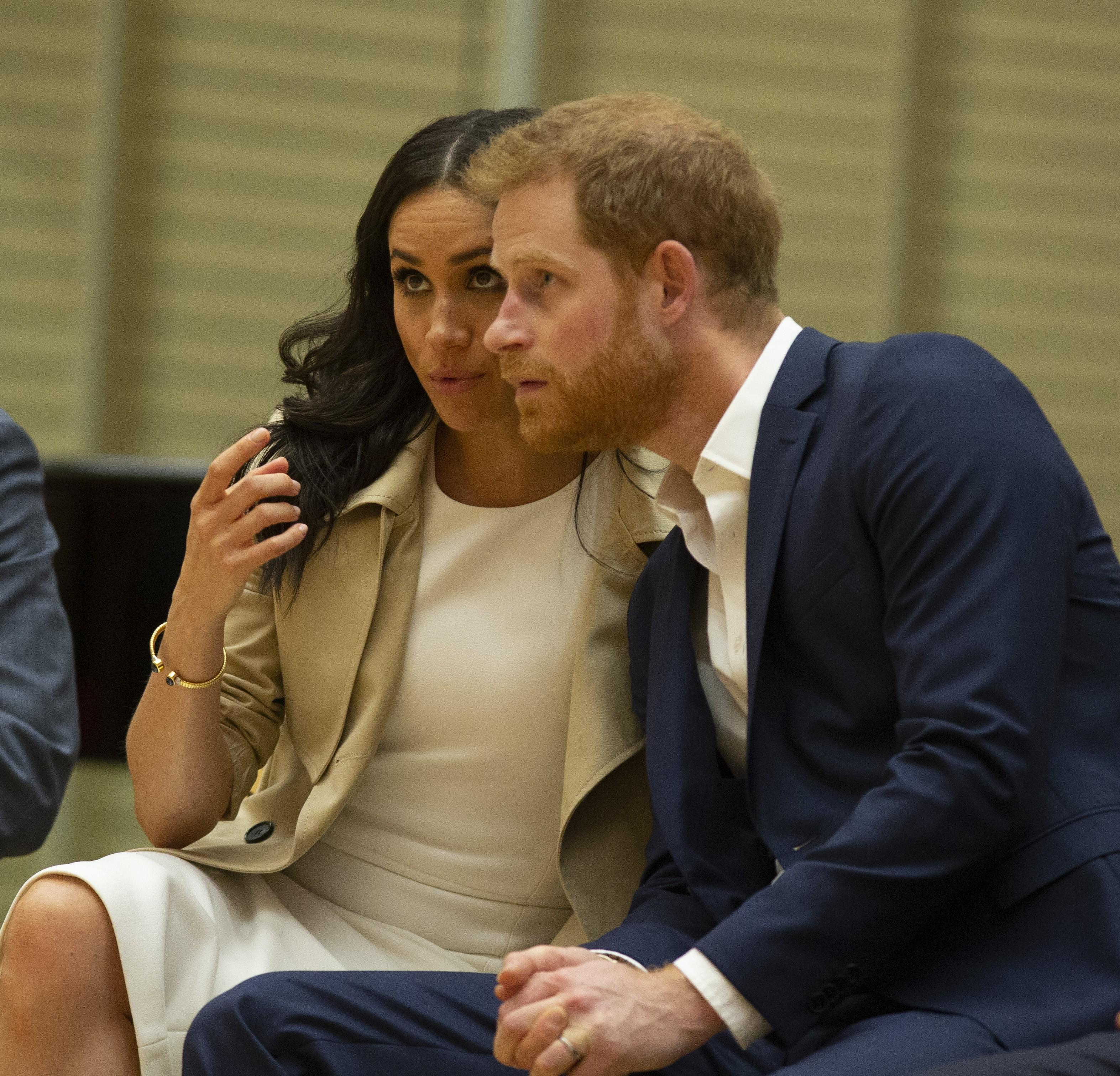 A atriz Meghan Markle e o Príncipe Harry (Foto: Getty Images)