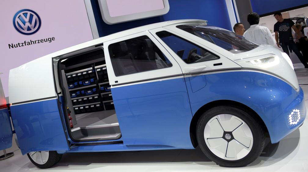 Volkswagen ID Buzz Cargo — Foto: Fabian Bimmer/Reuters