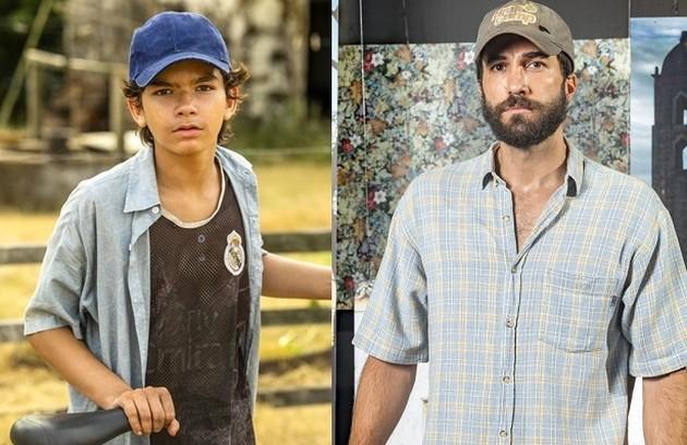 O personagem Rael (Rafael Queiroz), filho de Ticiana (Áurea Maranhão), será interpretado por Luiz Eduardo Toledo (Foto: TV Globo)