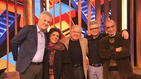 Pedro Bial presta homenagem a Carlos Drummond de Andrade, que se despediu há 30 anos