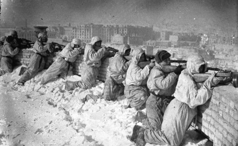 Soldados lutam durante o inverno (Foto: Wikimedia Commons)