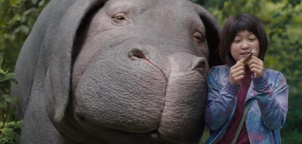 Okja está disponível em 4K (Foto: )