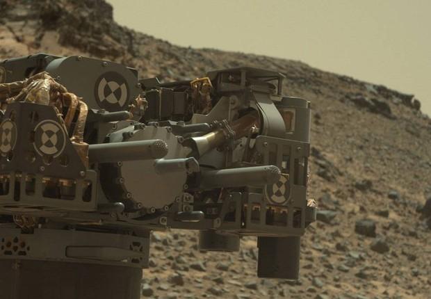 Curiosity, veículo espacial enviado a Marte (Foto: NASA/JPL-Caltech/MSSS)