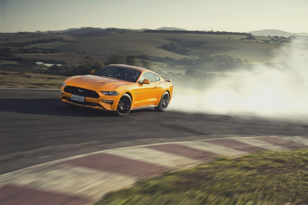 Ford Mustang GT Premium (Foto: Fabio Aro/Autoesporte)