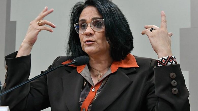 politica-damares-audiencia-senado (Foto: Geraldo Magela/Agência Senado)