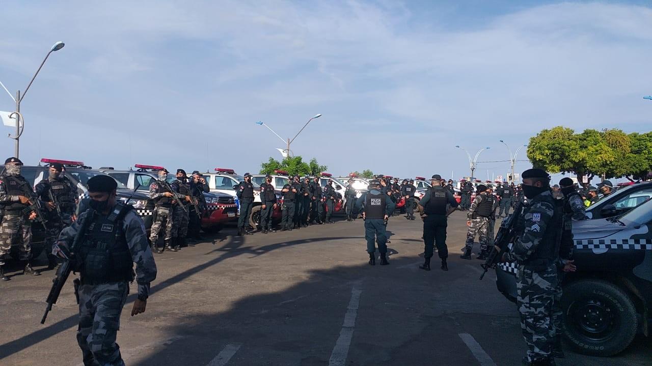 Polícia Militar deflagra operação 'Overlord' com participação de 250 policiais no Baixo Amazonas