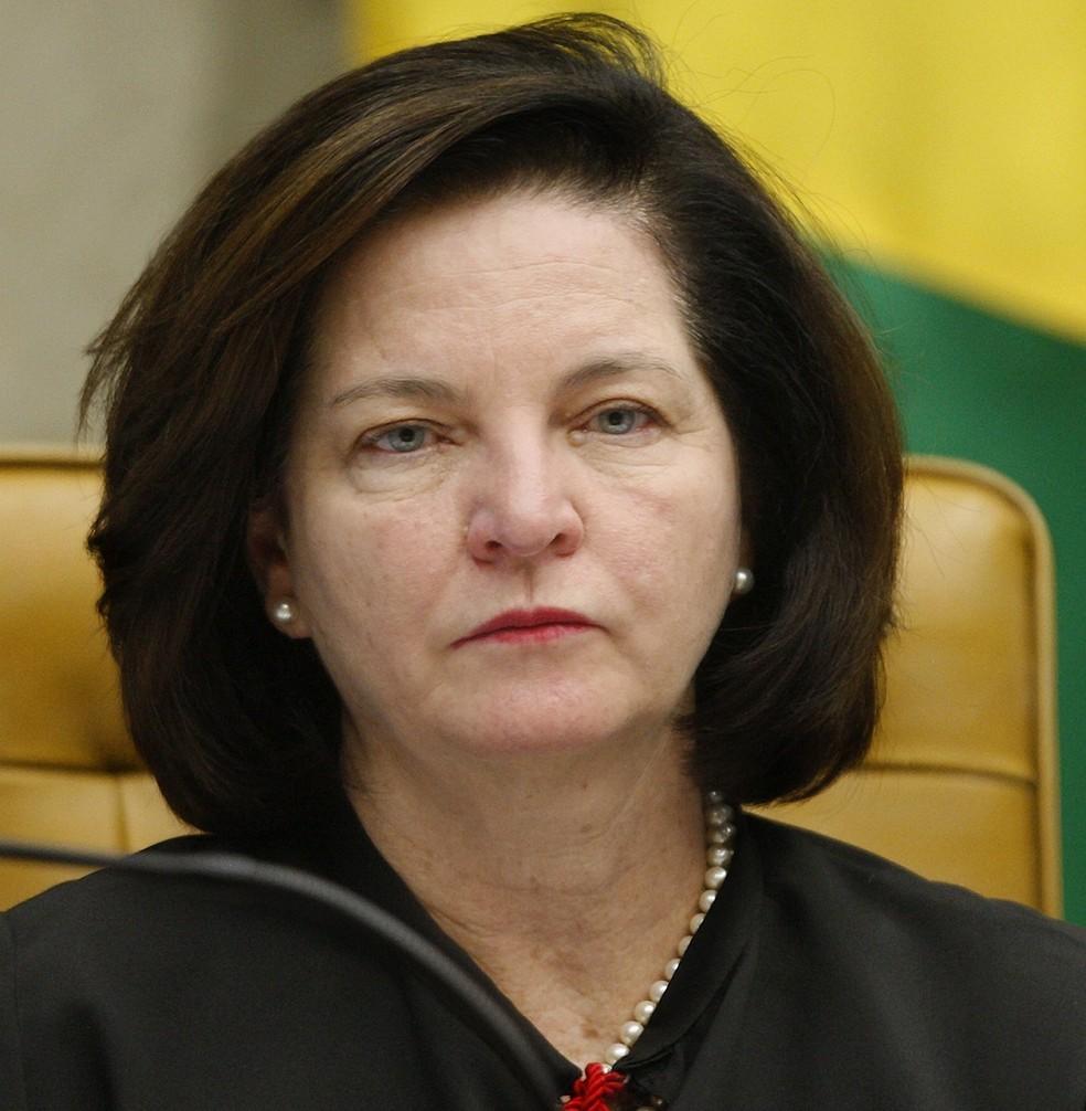 A procuradora-geral da República, Raquel Dodge, em sessão no STF — Foto: Rosinei Coutinho/SCO/STF