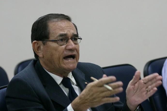 Presidente de Federação Paraense de Futebol (FPF), Coronel Nunes (Foto: Cristino Martins/O Liberal)