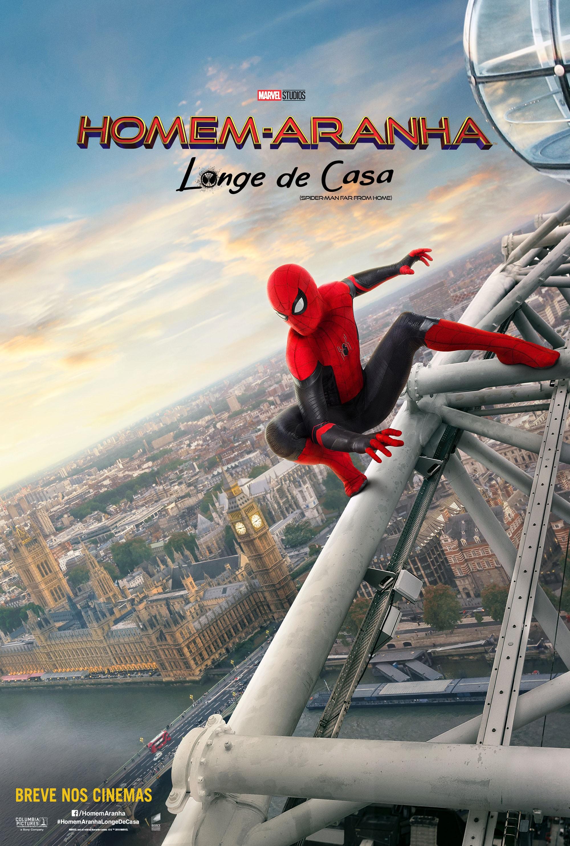 """""""Homem-Aranha: Longe de Casa"""" estreia nos cinemas no dia 4 de julho (Foto: Divulgação: Sony Pictures)"""