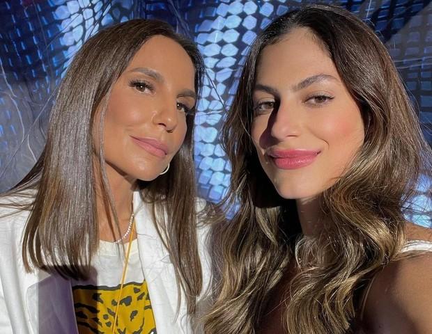 Ivete Sangalo e Mari Gonzalez (Foto: Divulgação)