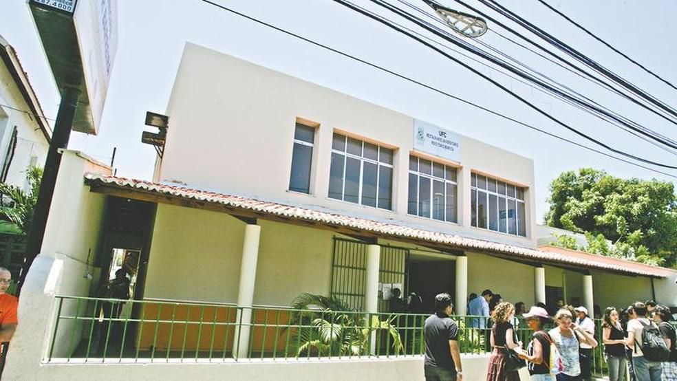 Universidade Federal do Ceará — Foto: José Leomar/SVM