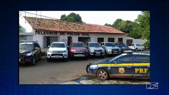 Operação apreende carros roubados em São Domingos do Maranhão