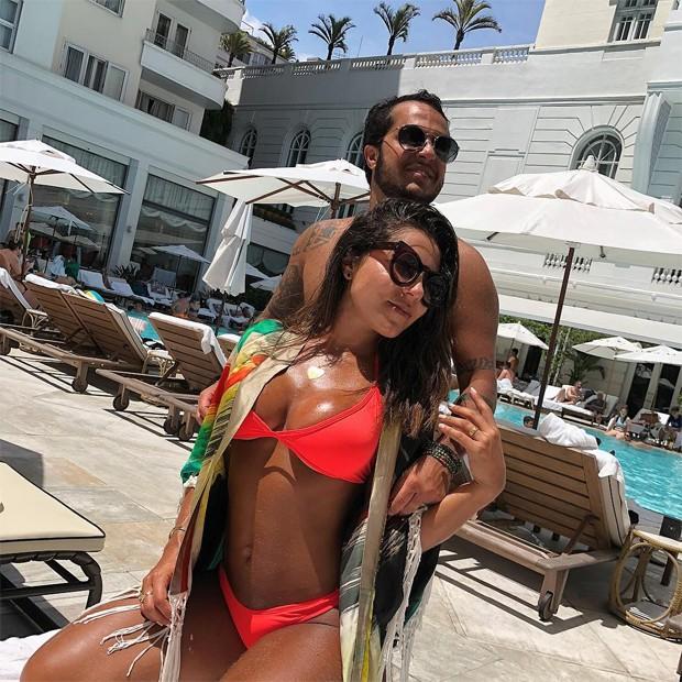 Andressa Ferreira e Thammy Miranda (Foto: Reprodução / Instagram)