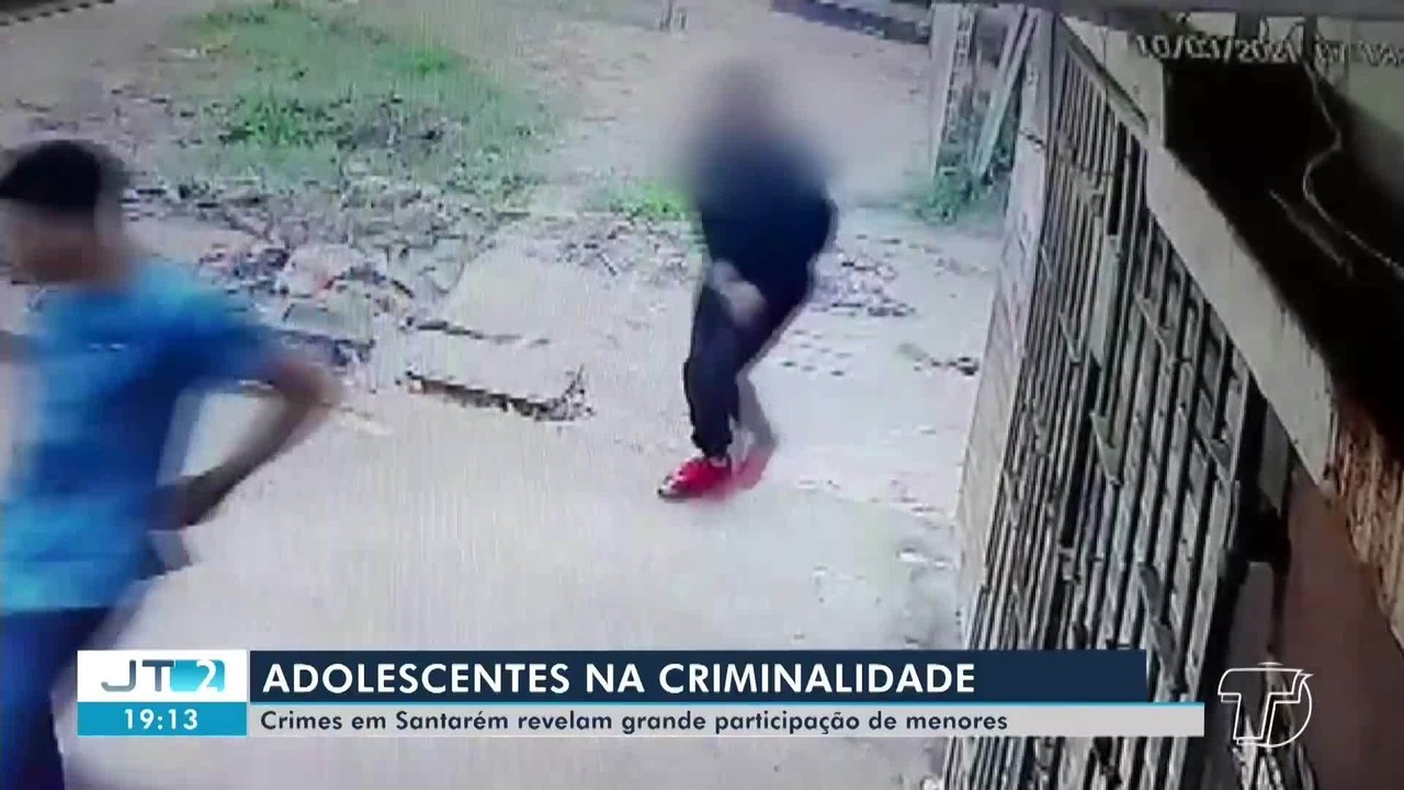 Criminalidade em Santarém têm contado com a participação de adolescentes; veja