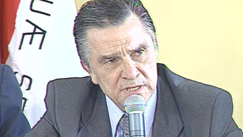 Djalma de Morais morre vítima da Covid-19 — Foto: Reprodução/TV Globo