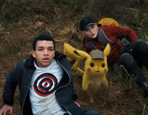 Justice Smith em Pokémon: Detetive Pikachu (Foto: Divulgação)