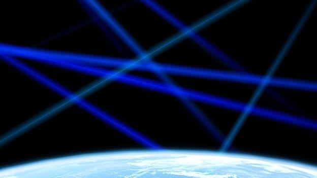 Segundo especialistas, um laser muito forte poderia 'queimar' a atmosfera (Foto: Getty Images via BBC)