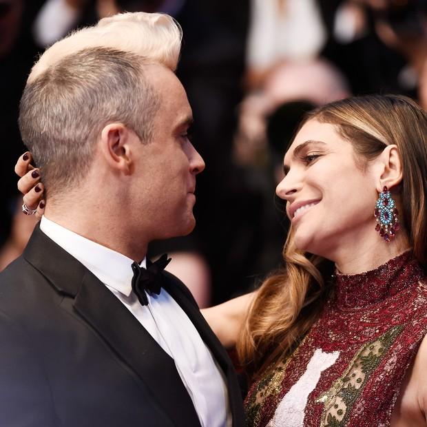 Robbie Williams e Ayda Field (Foto: Getty)