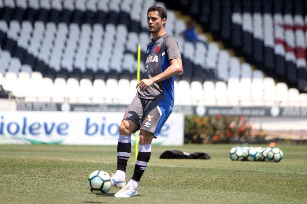 Anderson Martins é esperado nesta sexta-feira para iniciar pré-temporada (Foto: Paulo Fernandes/Vasco)