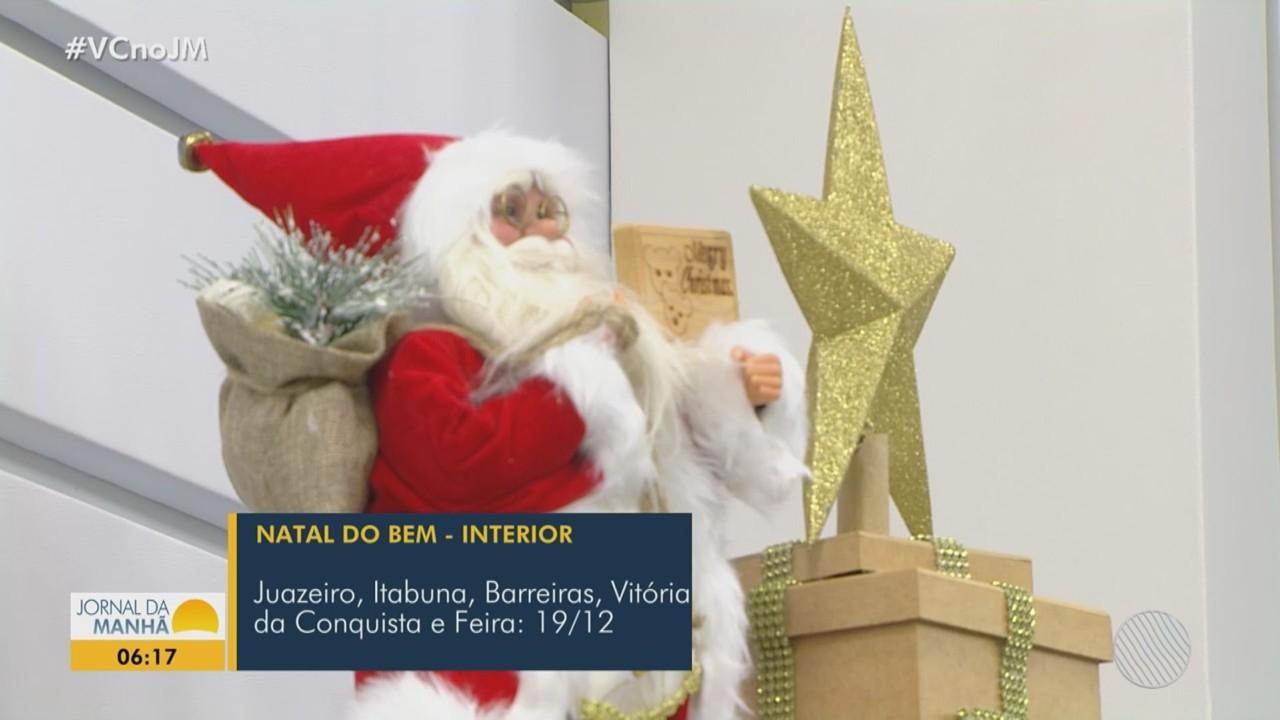 Campanha 'Natal do Bem', arrecada brinquedos para crianças em Salvador e municípios da BA