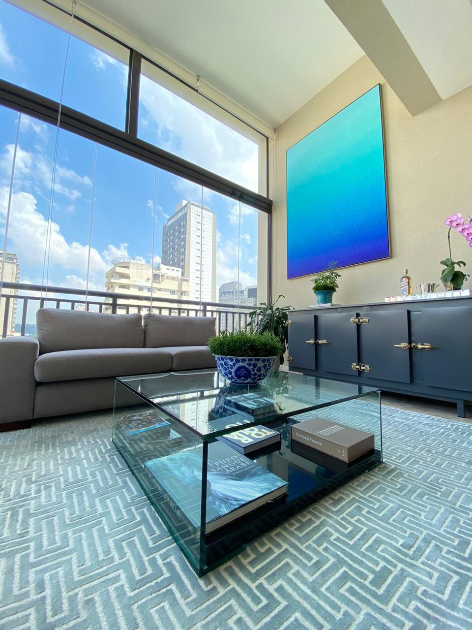 Renata Kuerten abre apartamento de 200 m² em São Paulo (Foto: Arquivo Pessoal)