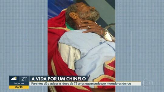 Idoso foi esfaqueado na Zona Norte do Rio por causa de par de chinelos, diz família