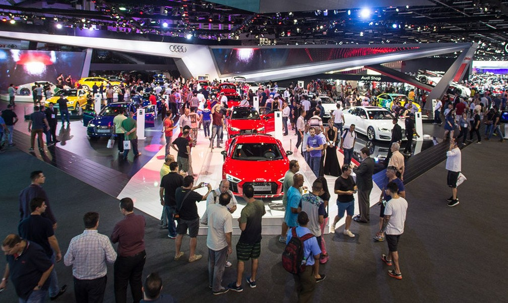 Salão do Automóvel é o maior evento de carros da América Latina — Foto: Divulgação