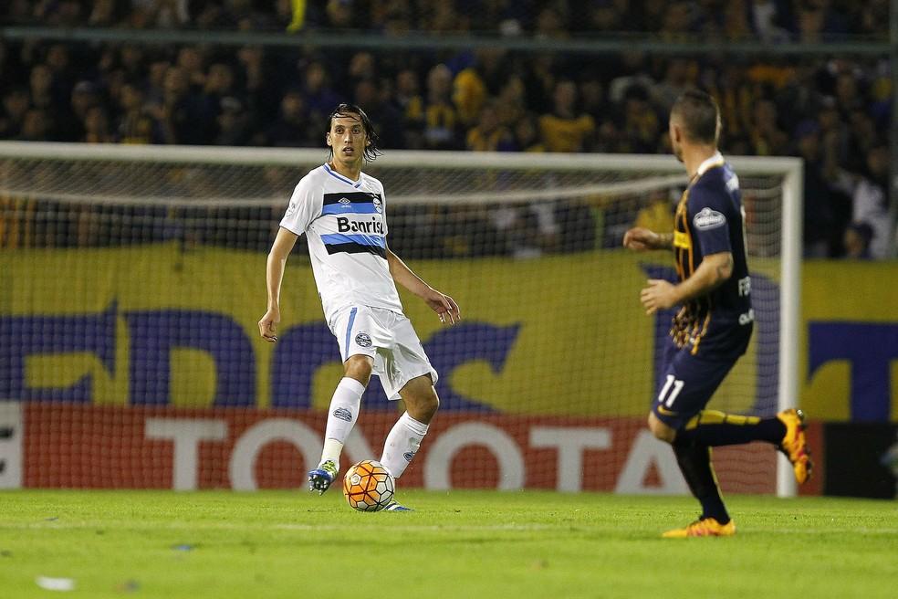 Grêmio caiu para o Rosário Central em 2016 — Foto: Lucas Uebel/Divulgação Grêmio
