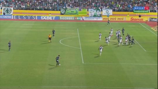 Assista aos gols da partida em Goiânia
