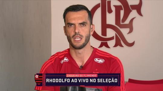 """Rhodolfo exalta torcida do Flamengo na estreia do Carioca: """"Flamenguista é muito apaixonado"""""""