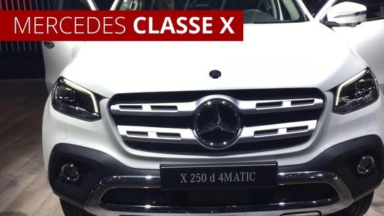 VÍDEO: por dentro da Mercedes-Benz Classe X, que chega em 2019