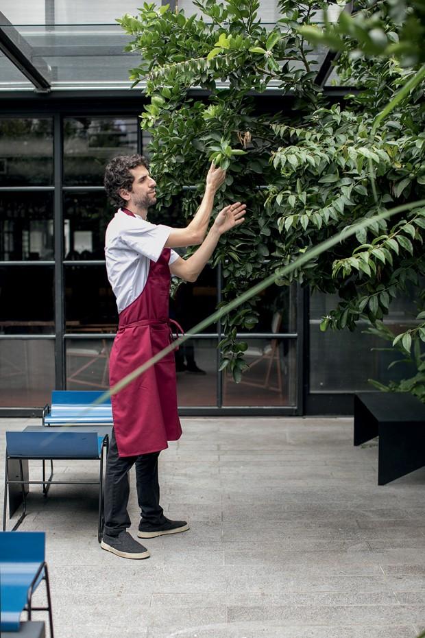 Chefs renomados investem em hortas para novas experiências gastronômicas (Foto: Deco Cury)