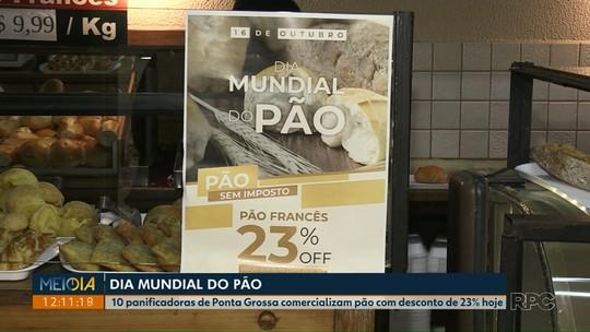 10 padarias vendem pão francês com 23% de desconto em Ponta Grossa