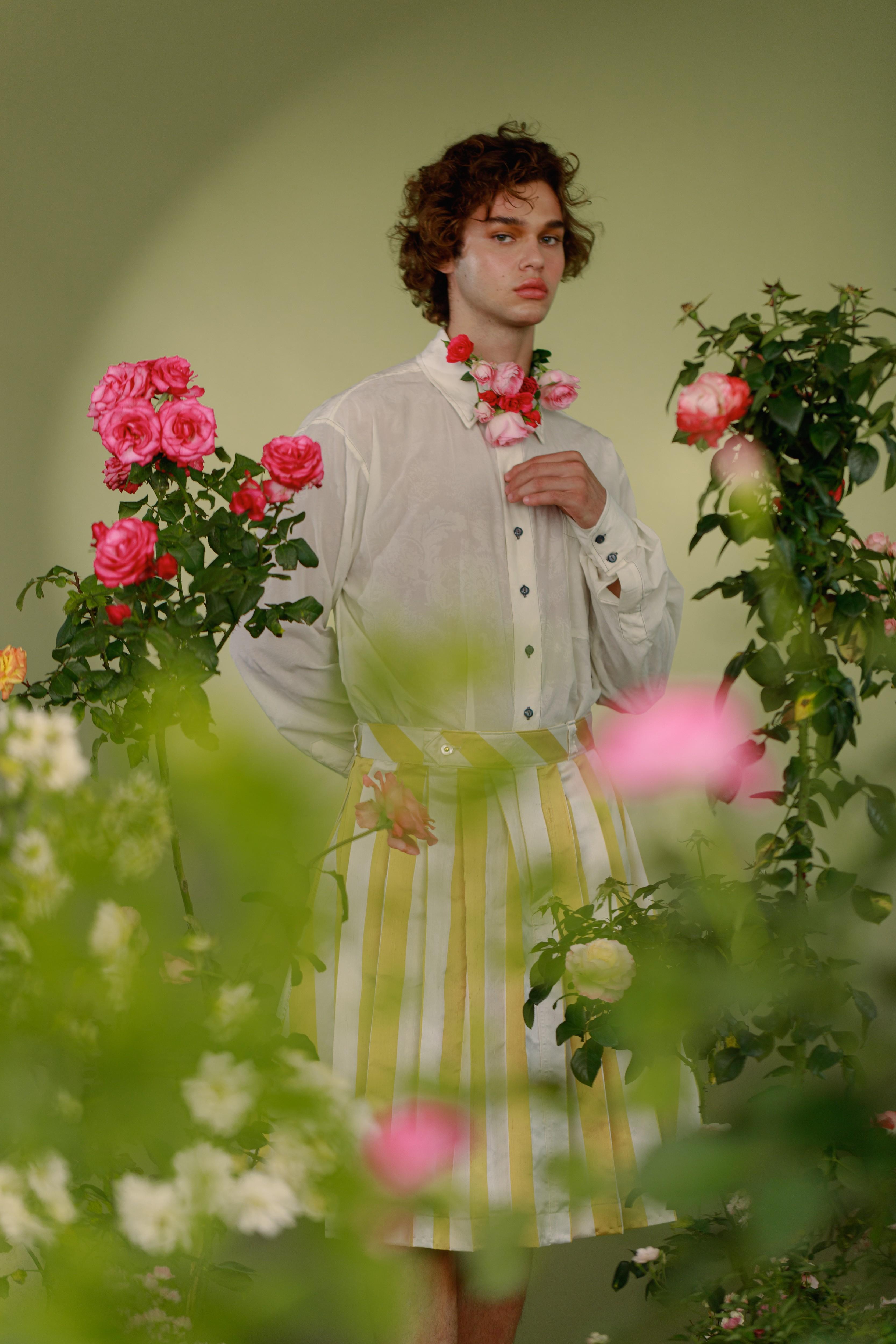 Menino Flor, a nova coleção de Victor Belchior (Foto: Henrique Resende)