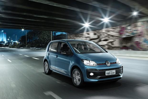 Resultado de imagem para 3) Volkswagen up! Move up! TSI 1.0 turbo 2018
