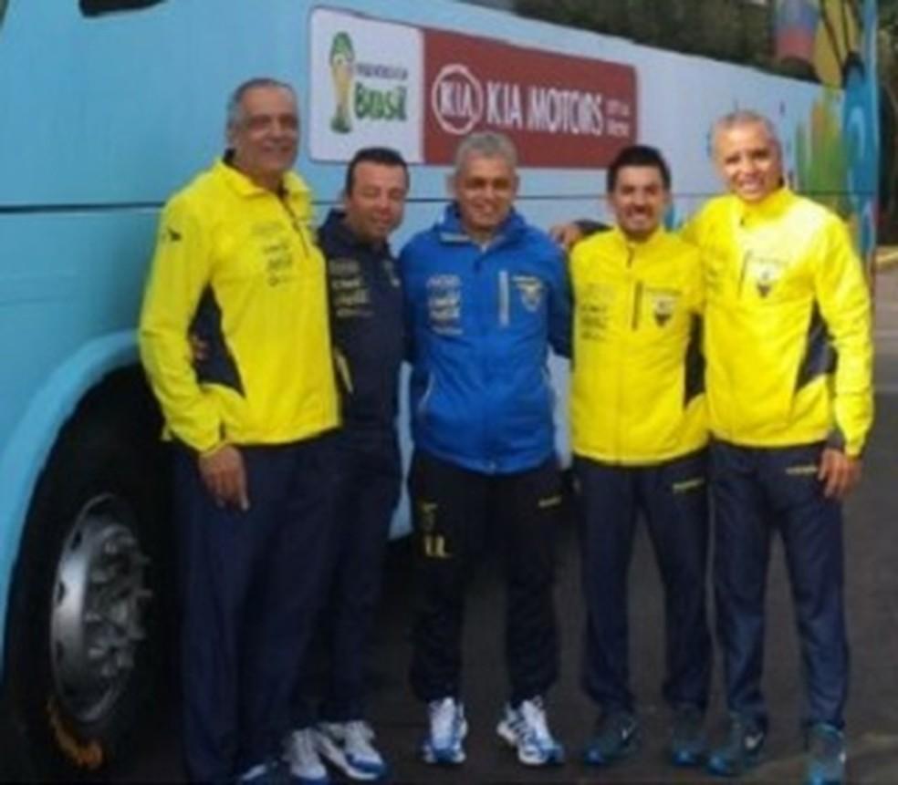 Orlando Caicedo trabalhou com Reinaldo Rueda na seleção do Equador (Foto: Reprodução)