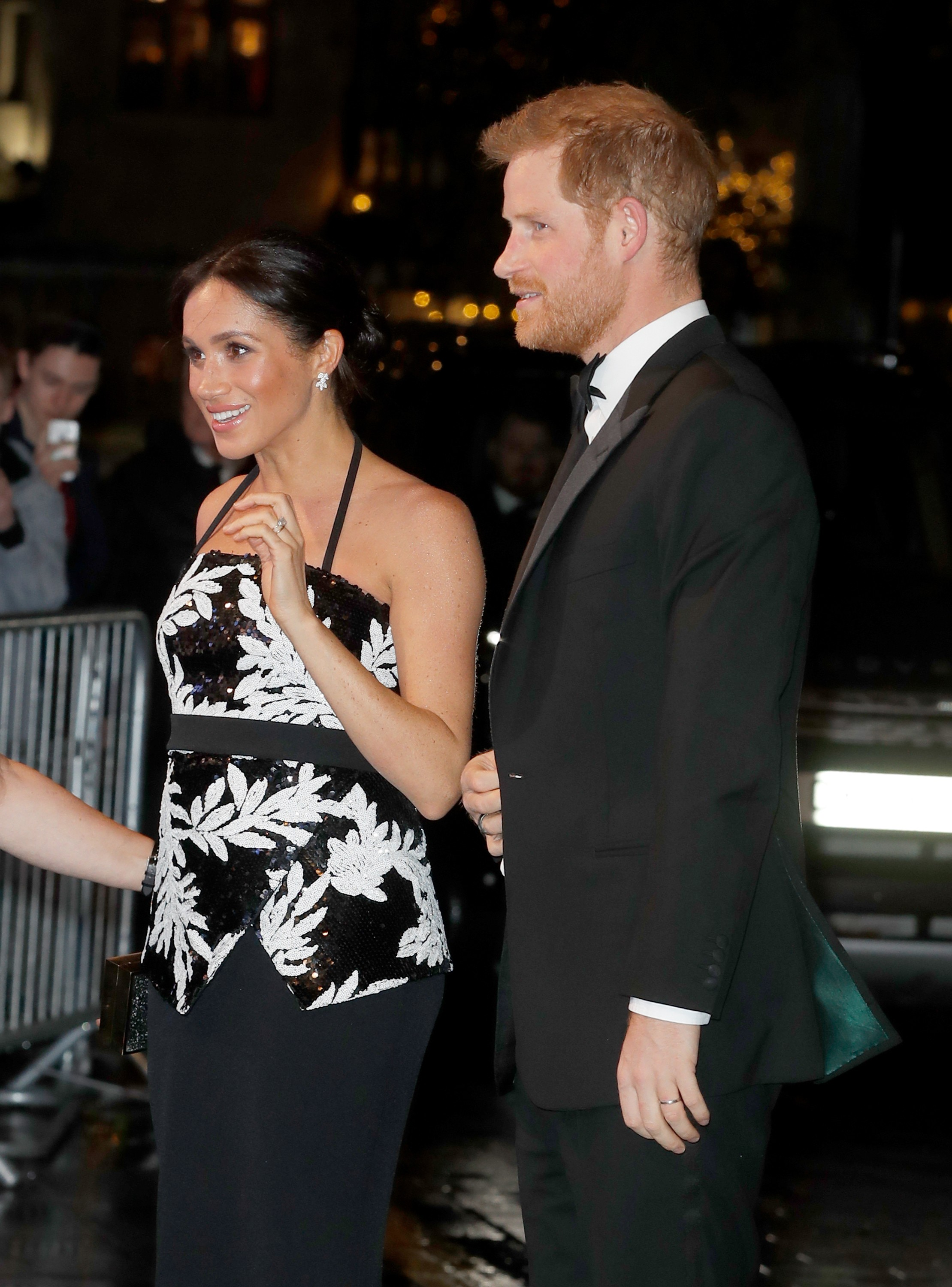 A atriz e duquesa Meghan Markle com o marido, o Príncipe Harry (Foto: Getty Images)