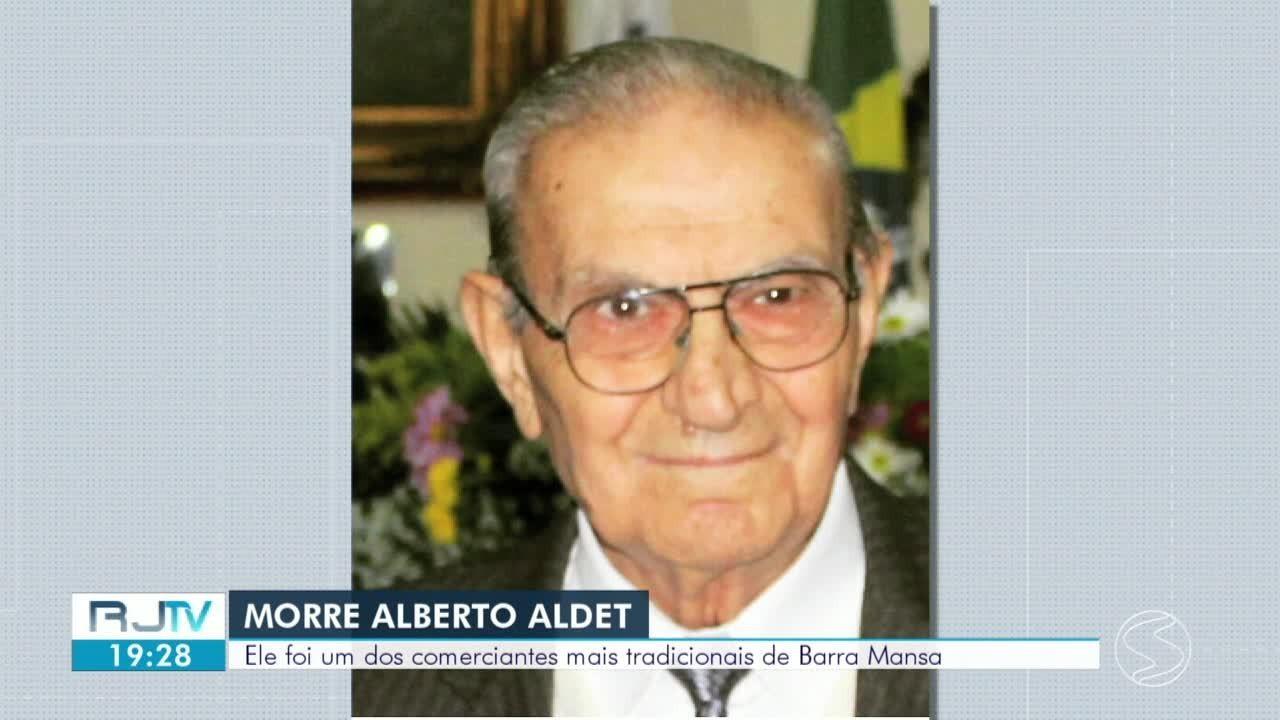 Enterrado empresário de Barra Mansa, Alberto Aldet
