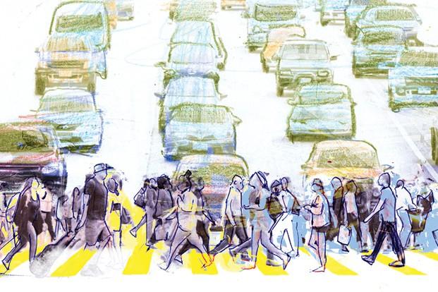 Carro Voador (Foto: Ilustração: Zé Otávio)