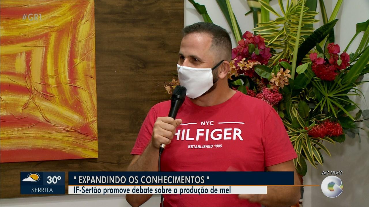IF-Sertão promove debate sobre a produção de mel