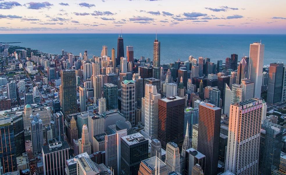 Chicago está entre as cidades que já começam a levar em conta o zoneamento integrado — Foto: Pixabay