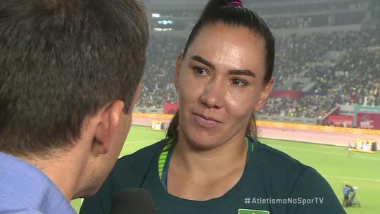 Fernanda Borges encerra participação no Mundial como a sexta colocada e comenta resultado