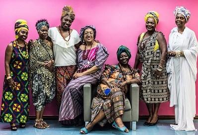 Pastoras da Comunidade do Rosário (Foto: Reprodução)
